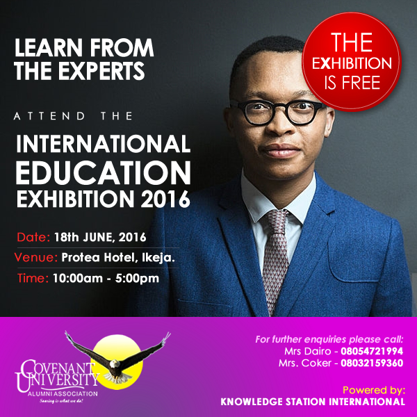 INTERNATIONAL EDUCATION EXHIBITION 2016
