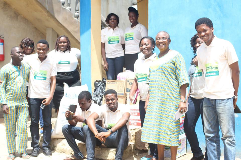Photo of Have You Eaten (HUE) Foundation to Lady Atinuke Memorial Home