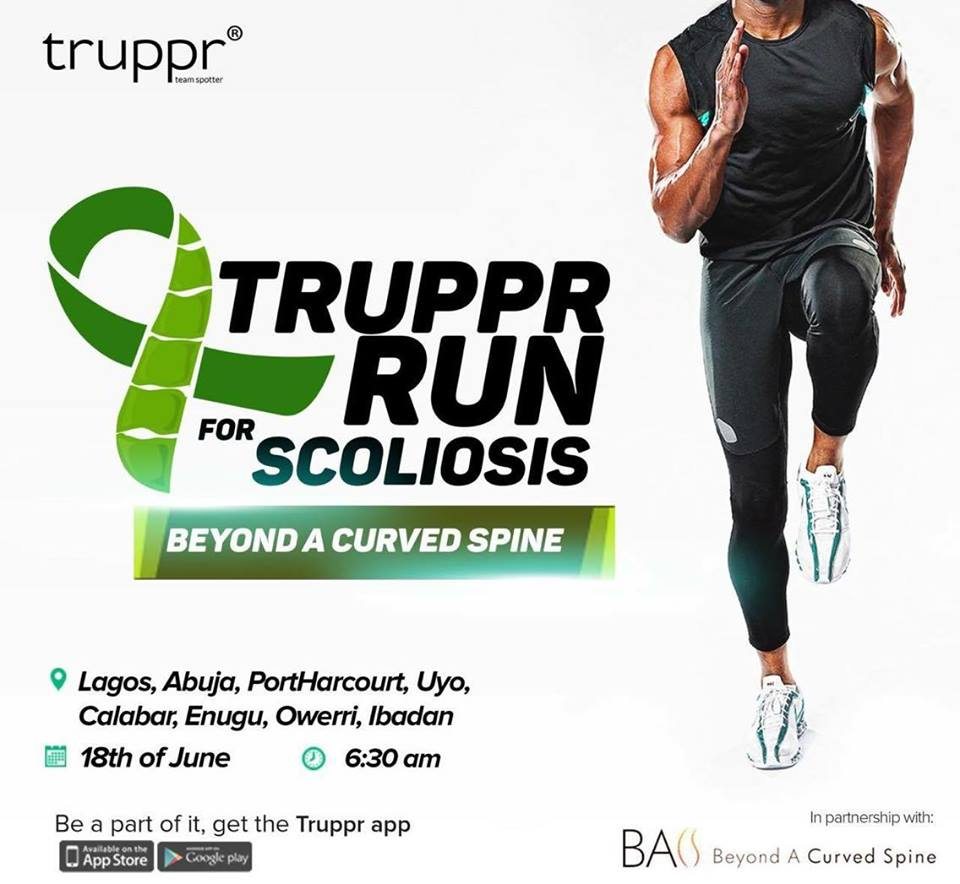 TRUPPR RUN FOR SCOLIOSIS
