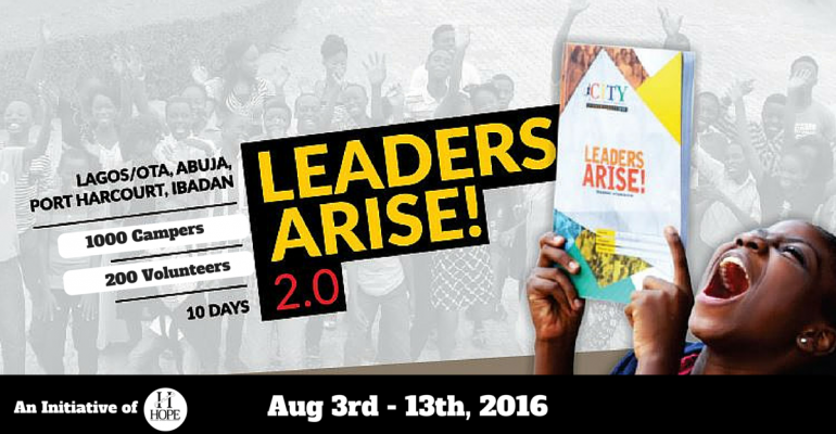 LEADERS ARISE 2.0: CITY SUMMER CAMP 2016
