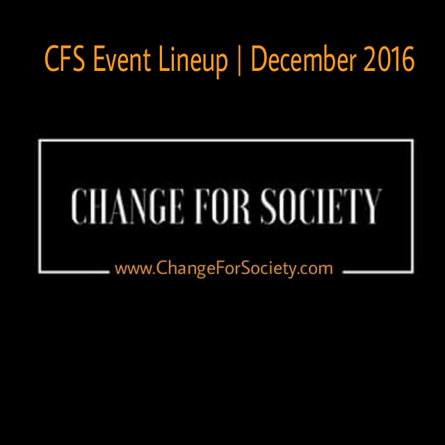 Photo of CFS Event Lineup | December 2016