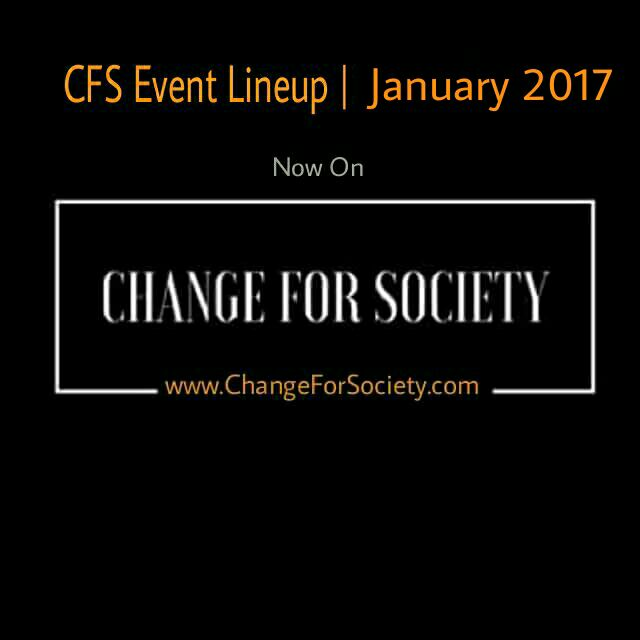 Photo of CFS Event Lineup | January 2017