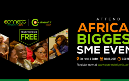 Attend ConnectNigeria's eBusiness Fair 2017 for Businesses and Professionals