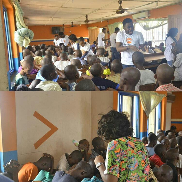 break out session with the boys at Remand Home, Oregun in Lagos, Nigeria | Hope & Opportunities [a project of HOC]