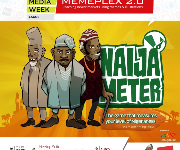 #SocialMediaWeekLagos : Invitation to MEMEPLEX 2.0 hosted by Imaginaire— For Tech Enthusiasts, Social Influencers, Serial Bloggers, Social Entrepreneurs, Communication Experts, All Lovers Of Great Things!
