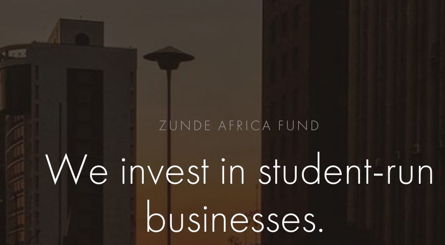 Student-Led Startups and Projects In Africa? Apply For Zunde Africa Fund For Student-Led Startups 2017