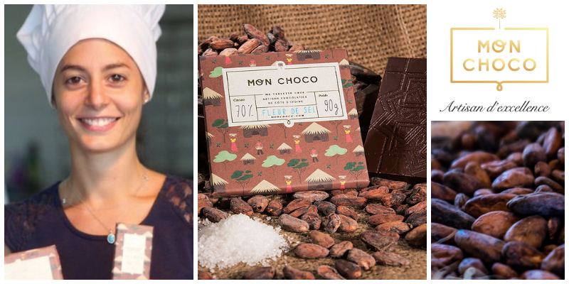 Photo of Dana Mroueh, the entrepreneur that makes organic eco-friendly chocolates without threatening her environment