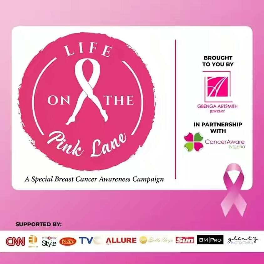 #LifeOnThePinkLane is offering discounted breast screening in two major cities in Nigeria (50% off!)
