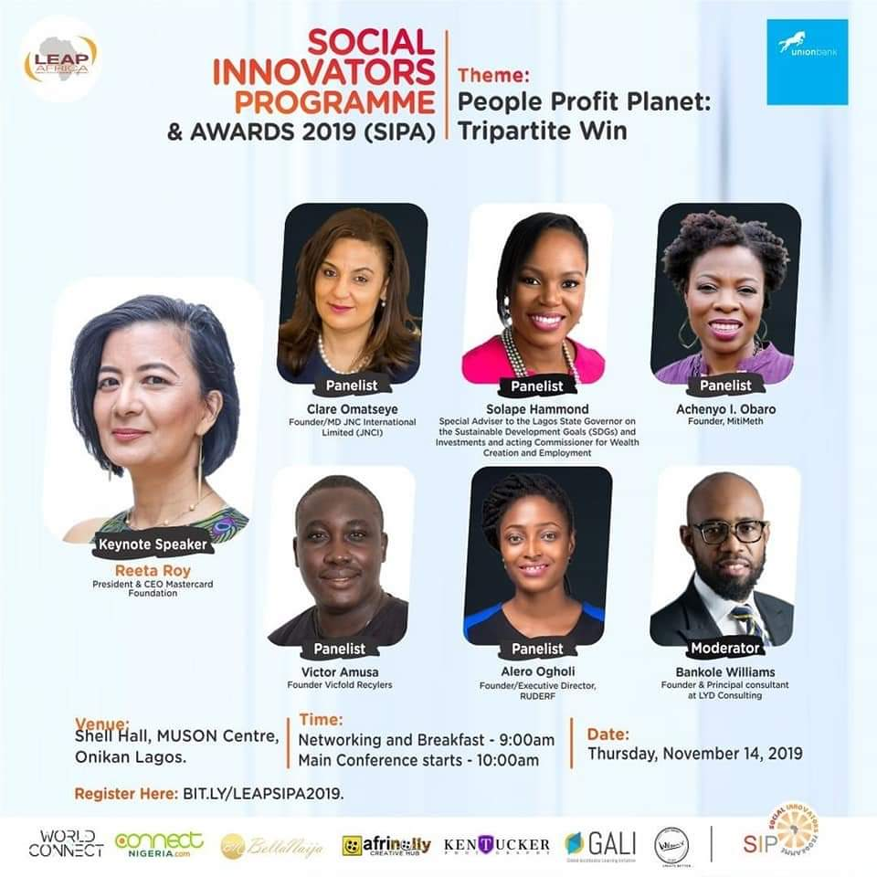 Why you should attend the Social Innovators Conference by Leap Africa in November (attendance is free)