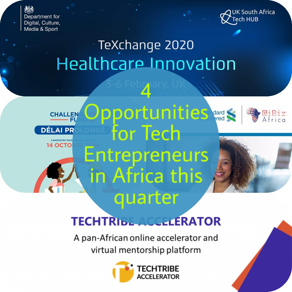 Photo of 4 Opportunities for Tech Entrepreneurs in Africa this quarter