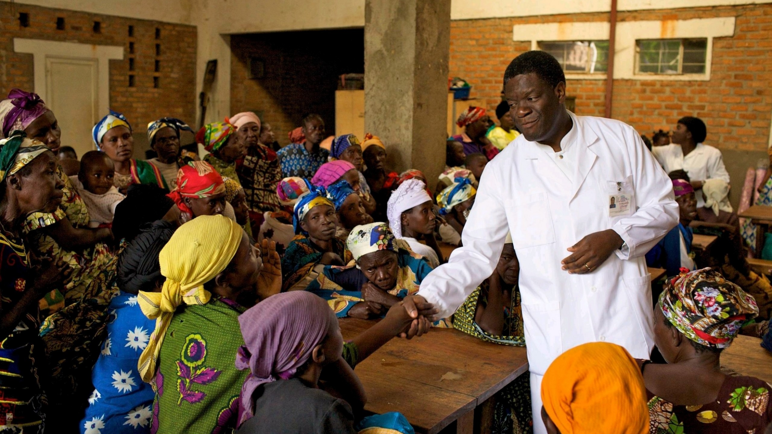 64-year-old gynaecologist, Denis Mukwege, is helping sexually abused victims in Congo get surgical repairs for the horrific damage inflicted on them (Women and Girls)