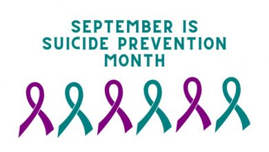 Photo of Suicide Prevention Awareness Month